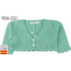 PCV-906-031-BLANCO venta al por mayor de ropa bebe Chaqueta