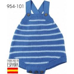 PCV-954-101-AZUL venta al por mayor de ropa bebe Ranita de
