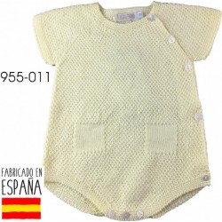 PCV-955-011-AMARILLO venta al por mayor de ropa bebe Ranita
