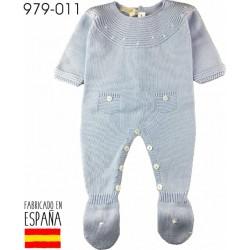 PCV-979-011-CELESTE venta al por mayor de ropa bebe Pelele