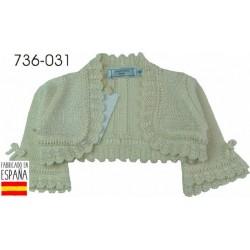 PCV-736-031-BLANCO venta al por mayor de ropa bebe Bolera niña