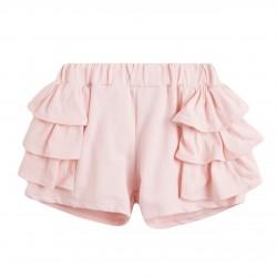 Pantalon short tres capas de volantes almacen mayorista de ropa