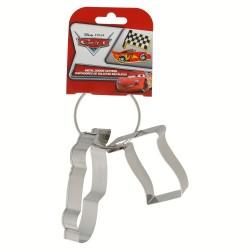 Set 2 cortadores de galletas metálicos en arandela con cartulina cars bakery-STI-77333-Disney