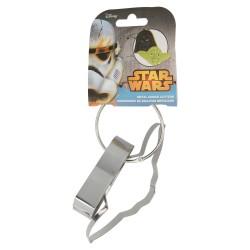 Set 2 cortadores de galletas metálicos en arandela con cartulina star wars bakery-STI-79133-Disney