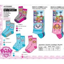 Pack 2 calcetines 98% de pe / 2% ea