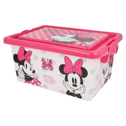 Contenedor 7 l | minnie mouse - disney - glam dots-STI-44416-Disney
