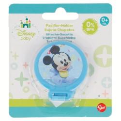 Sujeta chupetes mickey mouse - disney - baby paint pot-STI-39823-Disney