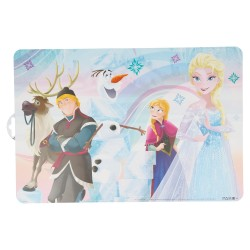 Mantel individual frozen iridescent aqua-STI-17919-Disney