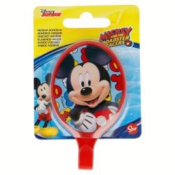 Percha adhesiva plástico oval 5.5*9.5cm mickey mouse - disney-STI-15007-Disney