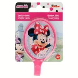 Percha adhesiva plástico oval 5.5*9.5cm minnie mouse - disney-STI-15012-Disney