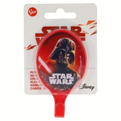 Percha adhesiva plástico oval 5.5*9.5cm star wars-STI-15017-Disney