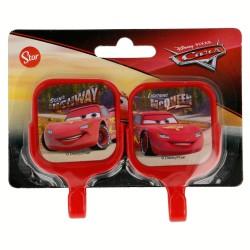Set 2 uds. perchas adhesivas cuadradas 5*8cm cars-STI-14994-Disney