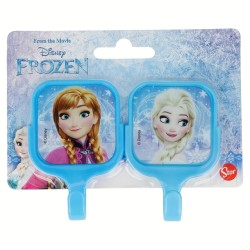 Set 2 uds. perchas adhesivas cuadradas 5*8cm frozen-STI-14999-Disney