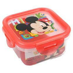 Recipiente cuadrado 290 ml | mickey mouse - disney - watercolors-STI-44276-Disney