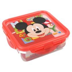 Recipiente cuadrado 500 ml | mickey mouse - disney - watercolors-STI-44259-Disney