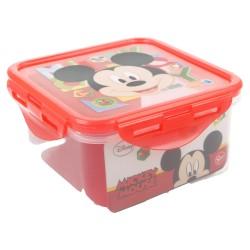 Recipiente cuadrado 730 ml | mickey mouse - disney - watercolors-STI-44265-Disney