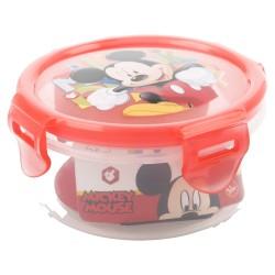 Recipiente redondo 270 ml | mickey mouse - disney - watercolors-STI-44262-Disney