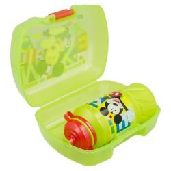 Set premium vuelta al cole 2 pcs. (sandwichera premium y botella sport easy 420 ml) mickey mouse - disney -STI-44267-Disney