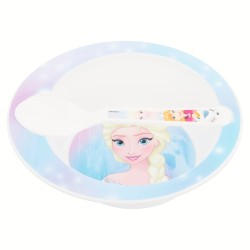 Set micro baby 2 pcs. (cuenco y cuchara) frozen baby-STI-30078-Disney