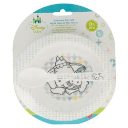 Set micro baby 2 pcs. (cuenco y cuchara) little treasures-STI-94763-Disney