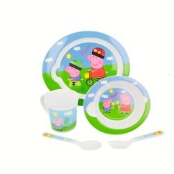 Comprar ropa de niño online Set micro baby 5 pcs. peppa