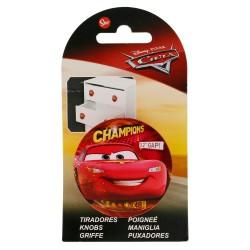Tirador redondo plástico 6*6cm cars-STI-15029-Disney