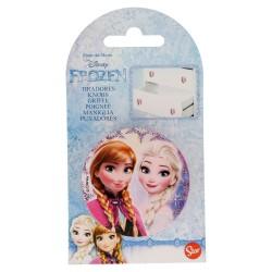 Tirador redondo plástico 6*6cm frozen-STI-15031-Disney