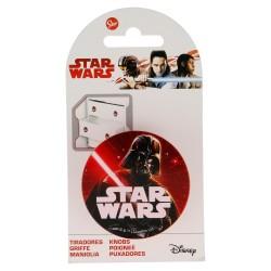 Tirador redondo plástico 6*6cm star wars-STI-15034-Disney