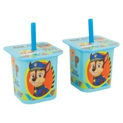 Set 2 pcs vaso caña yogur 190 ml | patrulla canina daily use-STI-4957-Disney