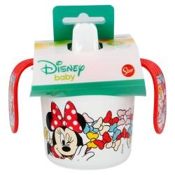 Taza entrenamiento 250 ml   minnie mouse - disney - color bows-STI-45385-Disney