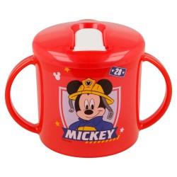 Taza entrenamiento toddler easy 230 ml   mickey mouse - disney - to the rescue-STI-44035-Disney