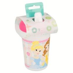 Vaso con boquilla 380 ml   little princesas disney-STI-30783-Disney