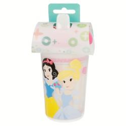 Vaso con boquilla doble pared 320 ml   little princesas disney-STI-30780-Disney