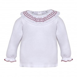 Camiseta cuello volante-LII-MN8311.1-2-Minhon