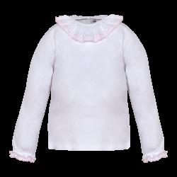 Camiseta m/ larga c/ volante-LII-MN8320-Minhon