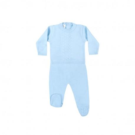 Conjunto 2 piezas tricot bebe-LII-MN5137-Minhon