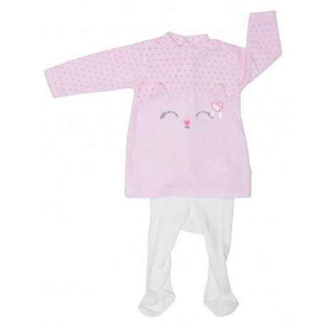 Vestido tund. + leotardo meow-TAI-192 81509 51-YATSI
