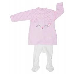 Vestido tund. + leotardo meow-TAI-192 81509 85-YATSI