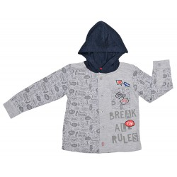 Camisa niño cap. break all rules-TAI-192 84630 51-YATSI