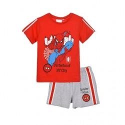 Conjunto camiseta mc & short ET1063-SPIDERMAN