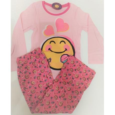 Pijama Largo algodón SMILE