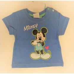 Camiseta manga corta bebe niño mickey