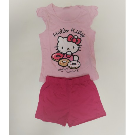 Pijama Largo algodón HELLO KITTY