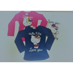 Camiseta manga larga chica-HELLO KITTY - TMBB-97612