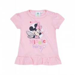 Camiseta bebe niña 100%algodón-MINNIE-TMBB-128877