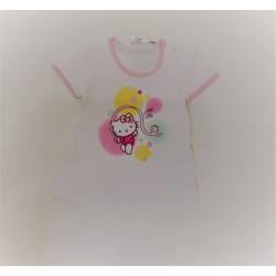 Camiseta bebe niña 100%algodón-HELLO KITTY-TMBB-285913