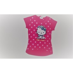 Camiseta manga chica-100% algodón- HELLO KITTY-90357