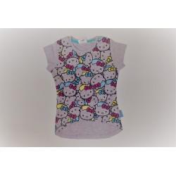 Camiseta manga corta chica-100% algodón- HELLO KITTY-109033