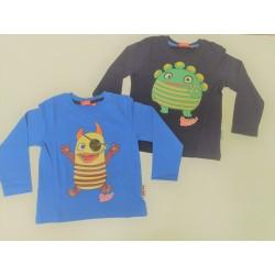 Camiseta manga larga chico SORGEN FRESSER -100% algodón-TMBB-120043