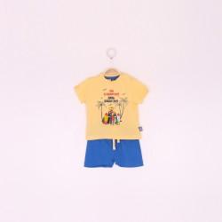 Conjunto bebe niño pantalon y camiseta-ALM-190047-Street Monkey